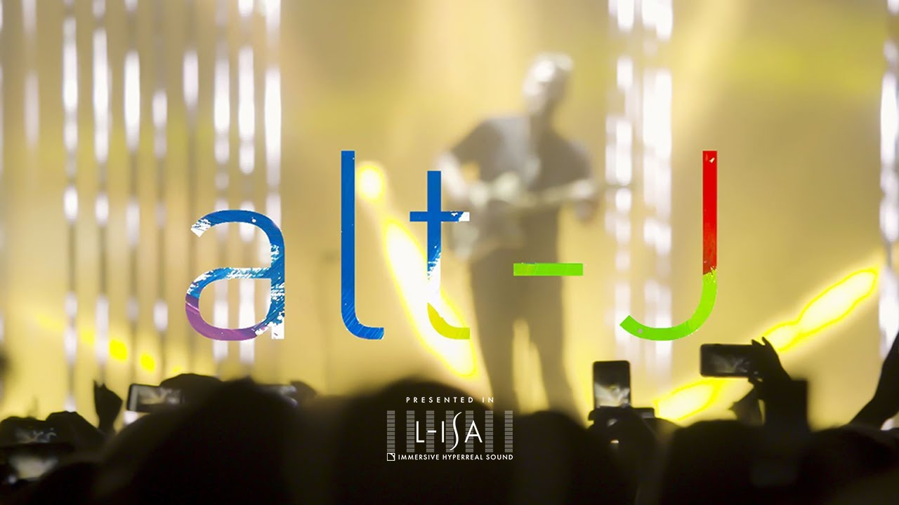 alt-J's groundbreaking surround sound show in NYC with L‑ISA Immersive technology from L‑Acoustics