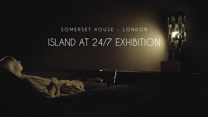 """Artists Iain Forsyth and Jane Pollard imagine a """"film without pictures"""" for Island at Somerset House 24/7 Exhibition"""